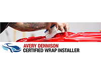 Certified Vehicle Wrap Installer