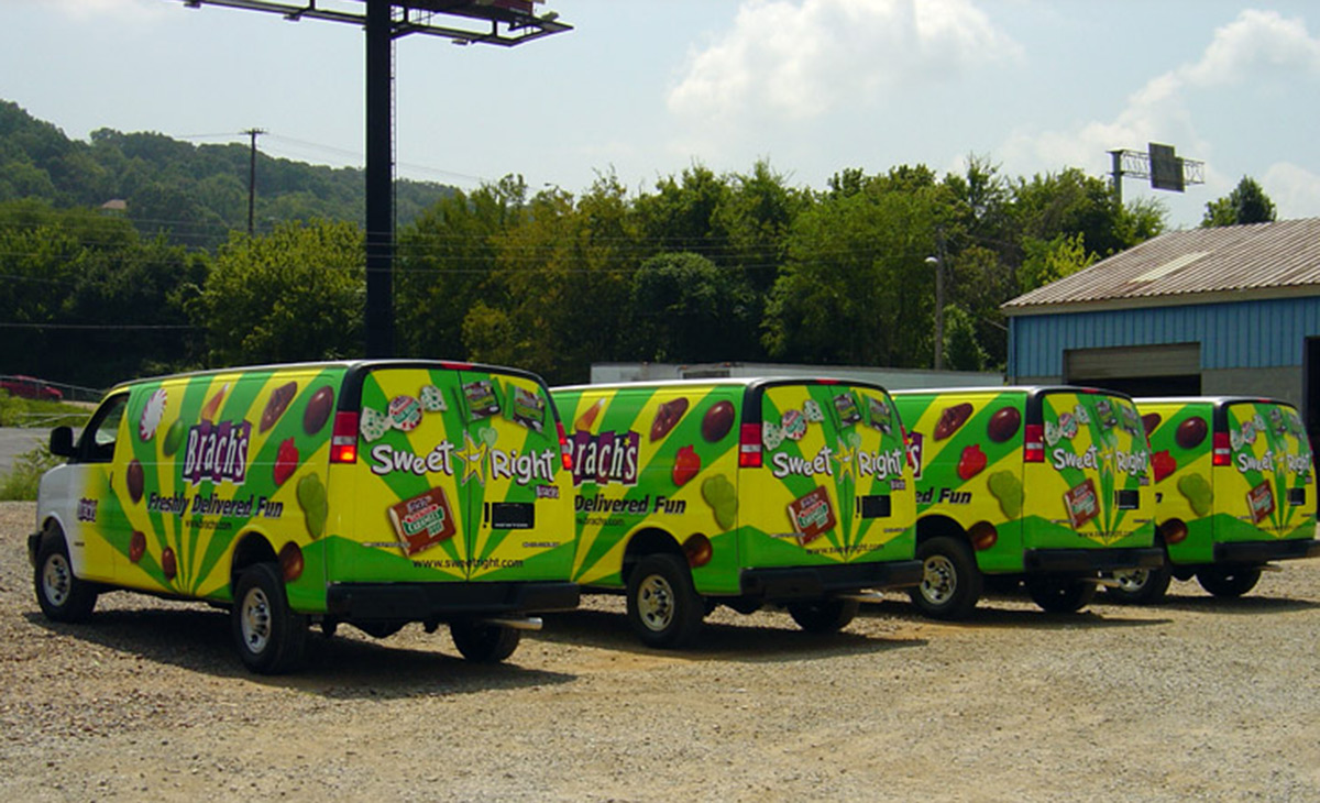 Brach's Van Wraps (fleet)
