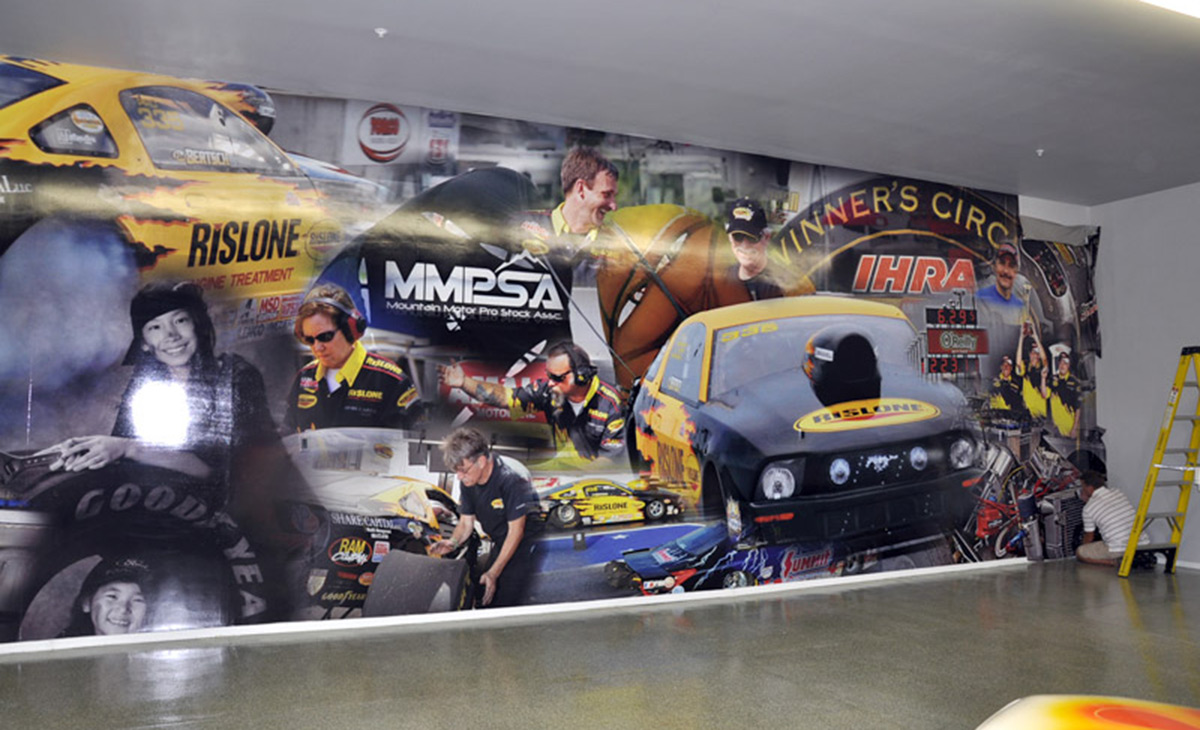Wall Graphic (Bob Bertsch Garage), Phoenix, AZ
